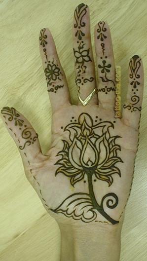 Hand Henna Copy Tattoo Me