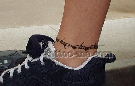 Ankle Henna Tattoo