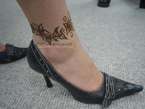 Bracelet tattoo stencils