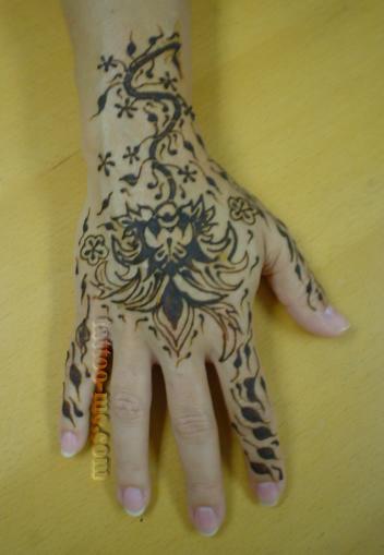 Henna Body Painting History