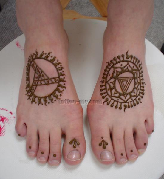 Henna Feet - tattoo-me