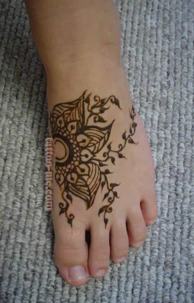 Foot Henna Tattoo Prices: Henna Feet