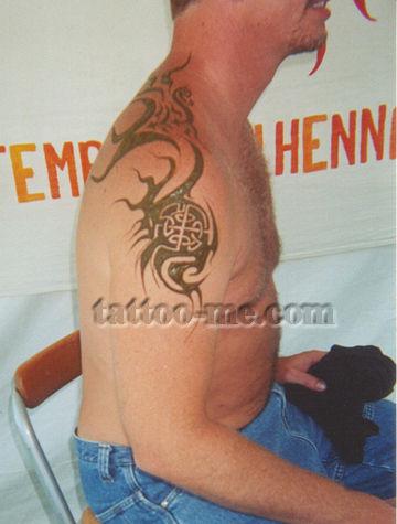 Om tribal henna tattoo tattoo me for Tribal tattoo shops near me
