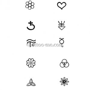 tattoo-me designs ebook 201, page 6, symbols
