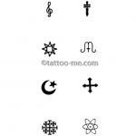 tattoo-me designs ebook 201, page 8, symbols
