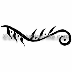 vine & leaves - vigne avec feuilles tattoo-me stamp