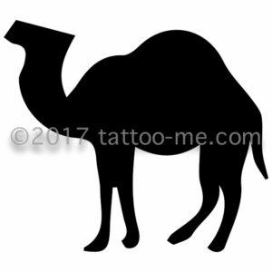 camel - chameau tattoo-me stamp