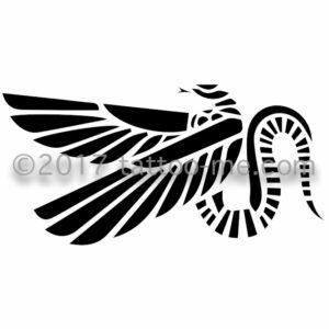 quetzalcoatl tattoo-me stamp