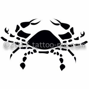 zodiac cancer tattoo-me stamp