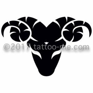 zodiac capricorn - capricorne tattoo-me stamp