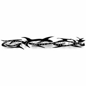 tribal armband tattoo-me stamp - brassard tribal