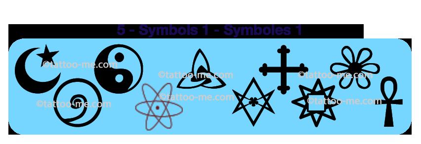 tattoo-me stamps symbols 1
